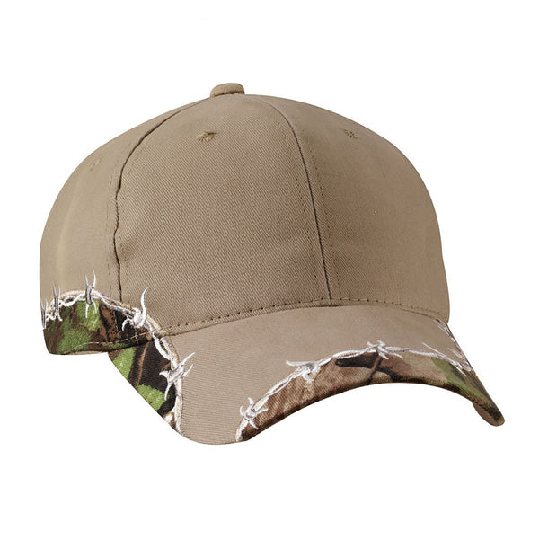 Outdoor Cap Barbed Wire Camo Hat