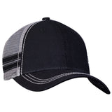 Sportsman Trucker with Stripes Cap