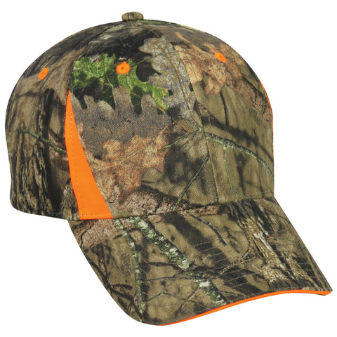 Outdoor Cap - Camo With Hi-Vis Inserts