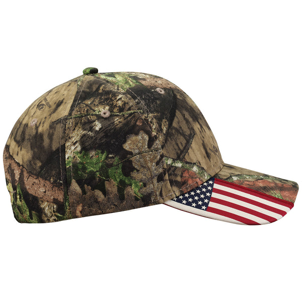 Outdoor Cap American Flag Hat - Realtree Xtra