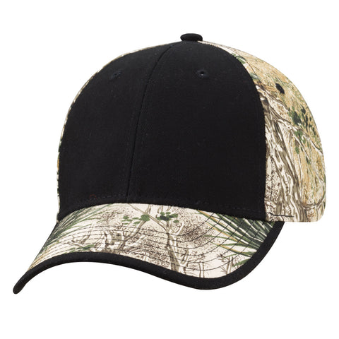 Kati Solid Front/Camo Hat