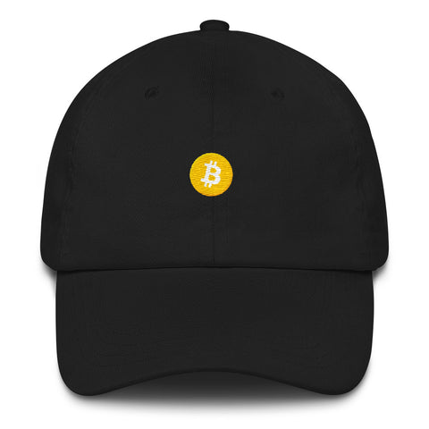 Bitcoin Emoji Dad Hat