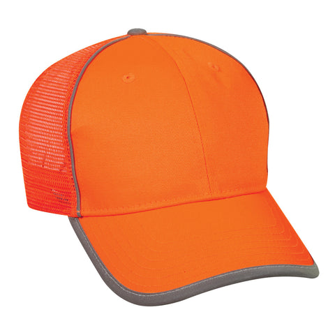 Outdoor Cap - Safety Mesh Back