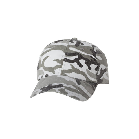 Valucap Bio-Washed Camo Hats