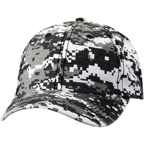 Valucap - Classic Dad's Cap Digital Camo