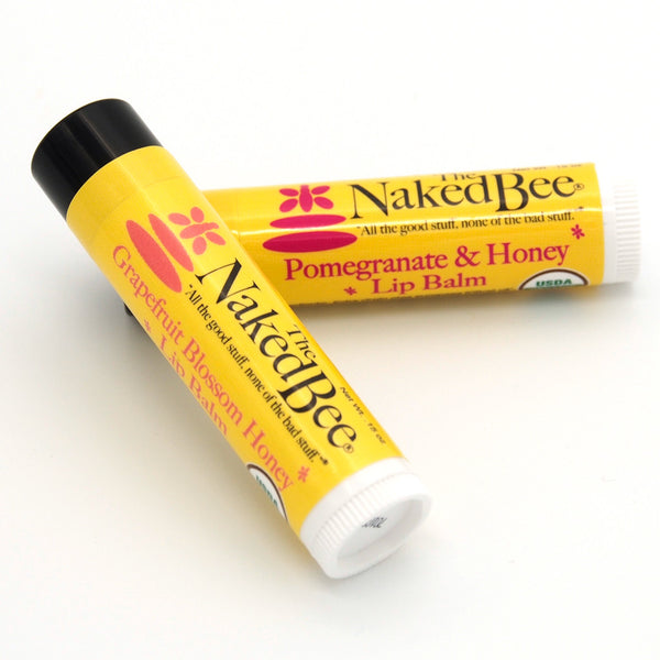 Naked bee lip balm think, you