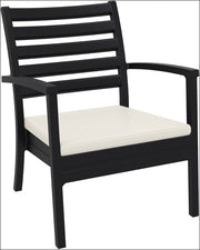 Compamia Artemis XL Club Chair Black ISP004-BLA - RestaurantFurniturePlus + Chairs, Tables and Outdoor - 1
