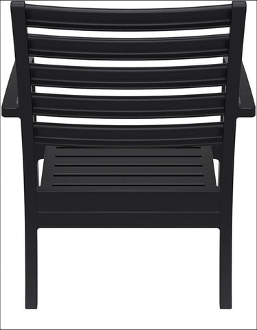 Compamia Artemis XL Club Chair Black ISP004-BLA - RestaurantFurniturePlus + Chairs, Tables and Outdoor - 4