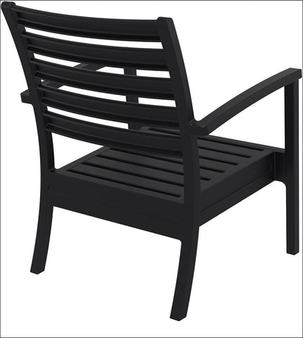 Compamia Artemis XL Club Chair Black ISP004-BLA - RestaurantFurniturePlus + Chairs, Tables and Outdoor - 5