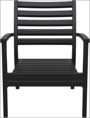 Compamia Artemis XL Club Chair Black ISP004-BLA - RestaurantFurniturePlus + Chairs, Tables and Outdoor - 6