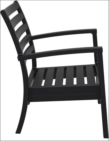Compamia Artemis XL Club Chair Black ISP004-BLA - RestaurantFurniturePlus + Chairs, Tables and Outdoor - 7
