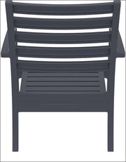 Compamia Artemis XL Club Chair Dark Gray ISP004-DGR - RestaurantFurniturePlus + Chairs, Tables and Outdoor - 3