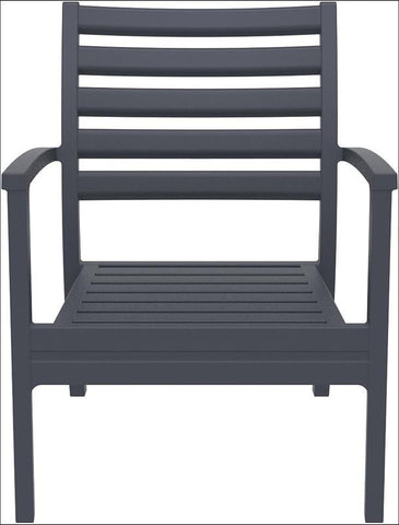 Compamia Artemis XL Club Chair Dark Gray ISP004-DGR - RestaurantFurniturePlus + Chairs, Tables and Outdoor - 5