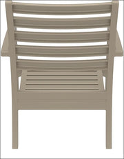 Compamia Artemis XL Club Chair Dove Gray ISP004-DVR - RestaurantFurniturePlus + Chairs, Tables and Outdoor - 3