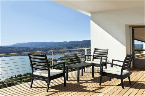 Compamia Artemis XL Club Chair Black ISP004-BLA - RestaurantFurniturePlus + Chairs, Tables and Outdoor - 2