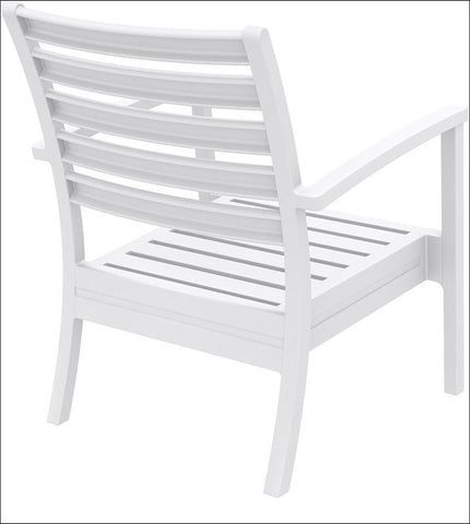 Compamia Artemis XL Club Chair White ISP004-WHI - RestaurantFurniturePlus + Chairs, Tables and Outdoor - 4
