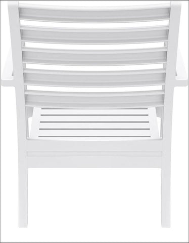 Compamia Artemis XL Club Chair White ISP004-WHI - RestaurantFurniturePlus + Chairs, Tables and Outdoor - 3