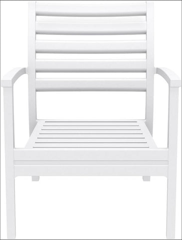 Compamia Artemis XL Club Chair White ISP004-WHI - RestaurantFurniturePlus + Chairs, Tables and Outdoor - 5
