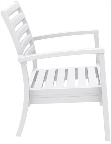 Compamia Artemis XL Club Chair White ISP004-WHI - RestaurantFurniturePlus + Chairs, Tables and Outdoor - 6