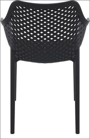 Compamia Air XL Outdoor Dining Arm Chair Black ISP007-BLA - RestaurantFurniturePlus + Chairs, Tables and Outdoor - 2