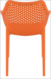 Compamia Air XL Outdoor Dining Arm Chair Orange ISP007-ORA - RestaurantFurniturePlus + Chairs, Tables and Outdoor - 3
