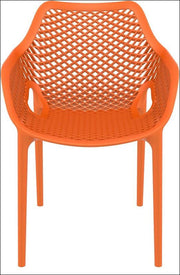 Compamia Air XL Outdoor Dining Arm Chair Orange ISP007-ORA - RestaurantFurniturePlus + Chairs, Tables and Outdoor - 2