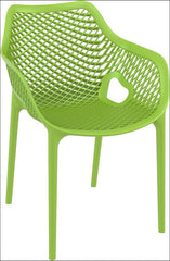 Compamia Air XL Outdoor Dining Arm Chair Tropical Green ISP007-TRG - RestaurantFurniturePlus + Chairs, Tables and Outdoor - 1