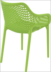 Compamia Air XL Outdoor Dining Arm Chair Tropical Green ISP007-TRG - RestaurantFurniturePlus + Chairs, Tables and Outdoor - 3