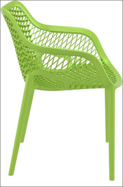 Compamia Air XL Outdoor Dining Arm Chair Tropical Green ISP007-TRG - RestaurantFurniturePlus + Chairs, Tables and Outdoor - 5