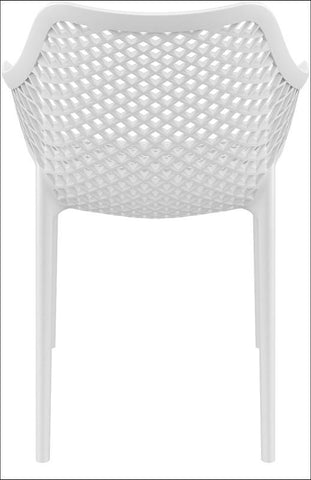 Compamia Air XL Outdoor Dining Arm Chair White ISP007-WHI - RestaurantFurniturePlus + Chairs, Tables and Outdoor - 2