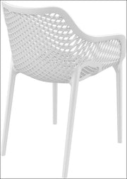 Compamia Air XL Outdoor Dining Arm Chair White ISP007-WHI - RestaurantFurniturePlus + Chairs, Tables and Outdoor - 3