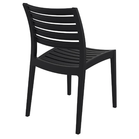 Compamia Ares Outdoor Dining Chair Black ISP009-BLA - RestaurantFurniturePlus + Chairs, Tables and Outdoor - 3