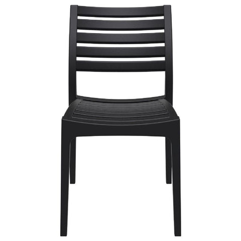 Compamia Ares Outdoor Dining Chair Black ISP009-BLA - RestaurantFurniturePlus + Chairs, Tables and Outdoor - 2