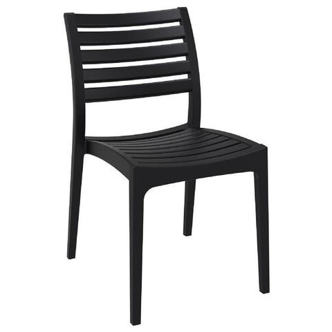 Compamia Ares Outdoor Dining Chair Black ISP009-BLA - RestaurantFurniturePlus + Chairs, Tables and Outdoor - 1