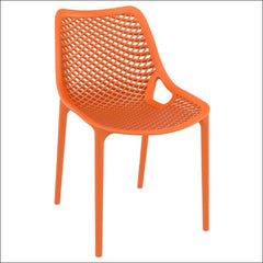 Compamia Air Outdoor Dining Chair Orange ISP014-ORA - YourBarStoolStore + Chairs, Tables and Outdoor  - 1