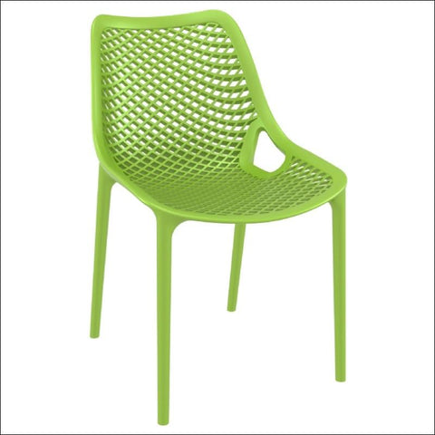 Compamia Air Outdoor Dining Chair Tropical Green ISP014-TRG - RestaurantFurniturePlus + Chairs, Tables and Outdoor - 1
