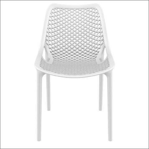 Compamia Air Outdoor Dining Chair White ISP014-WHI - RestaurantFurniturePlus + Chairs, Tables and Outdoor - 3