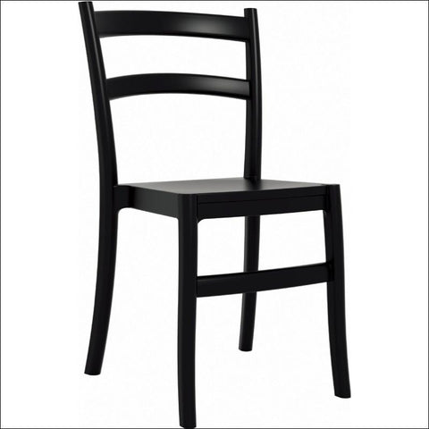 Compamia Tiffany Dining Chair Black ISP018-BLA - RestaurantFurniturePlus + Chairs, Tables and Outdoor - 1
