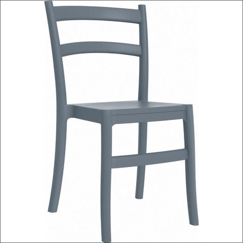 Compamia Tiffany Dining Chair Dark Gray ISP018-DGR - RestaurantFurniturePlus + Chairs, Tables and Outdoor - 1