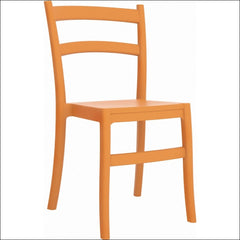 Compamia Tiffany Dining Chair Orange ISP018-ORA - YourBarStoolStore + Chairs, Tables and Outdoor  - 1