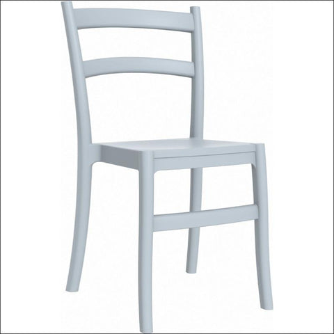 Compamia Tiffany Dining Chair Silver Gray ISP018-SIL - RestaurantFurniturePlus + Chairs, Tables and Outdoor - 1