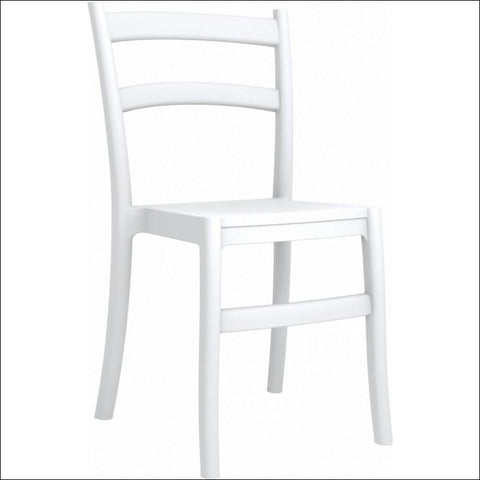 Compamia Tiffany Dining Chair White ISP018-WHI - RestaurantFurniturePlus + Chairs, Tables and Outdoor - 1