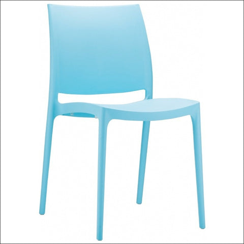 Compamia Maya Dining Chair Blue ISP025-LBL - RestaurantFurniturePlus + Chairs, Tables and Outdoor - 1