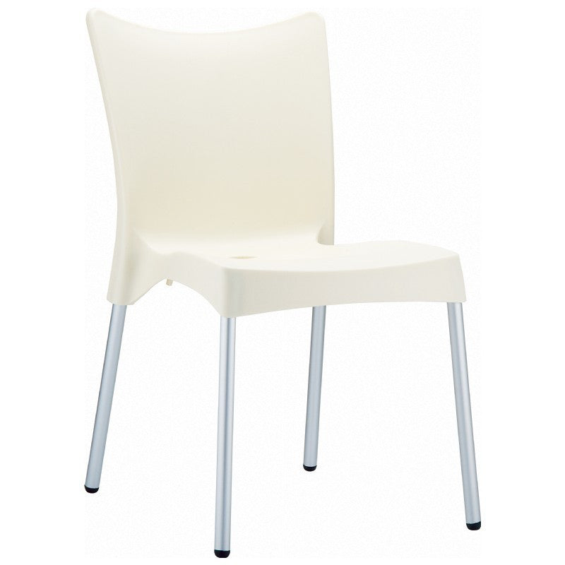 Compamia Juliette Resin Dining Chair Beige ISP045-BEI - RestaurantFurniturePlus + Chairs, Tables and Outdoor
