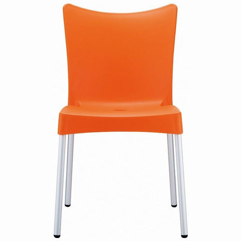 Compamia Juliette Resin Dining Chair Orange ISP045-ORA - RestaurantFurniturePlus + Chairs, Tables and Outdoor - 2