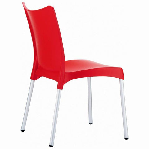 Compamia Juliette Resin Dining Chair Red ISP045-RED - RestaurantFurniturePlus + Chairs, Tables and Outdoor - 2