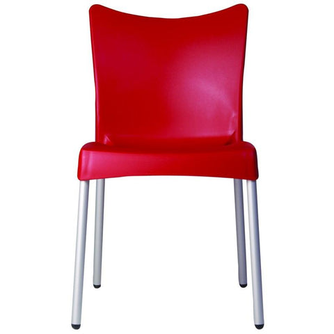Compamia Juliette Resin Dining Chair Red ISP045-RED - RestaurantFurniturePlus + Chairs, Tables and Outdoor - 3