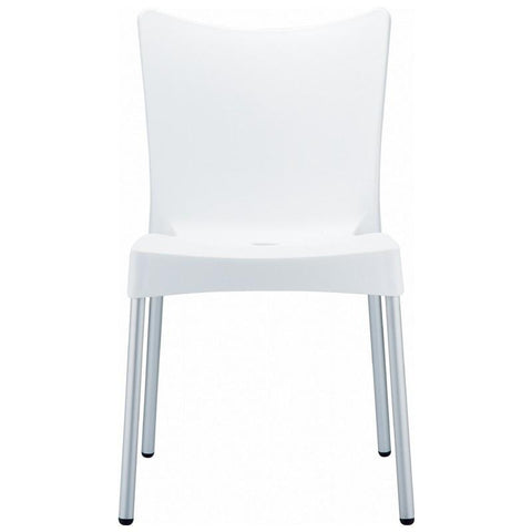 Compamia Juliette Resin Dining Chair White ISP045-WHI - RestaurantFurniturePlus + Chairs, Tables and Outdoor - 2