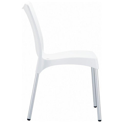 Compamia Juliette Resin Dining Chair White ISP045-WHI - RestaurantFurniturePlus + Chairs, Tables and Outdoor - 3