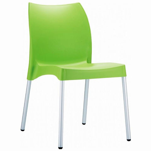 Compamia Vita Resin Outdoor Dining Chair Apple Green ISP049-APP - RestaurantFurniturePlus + Chairs, Tables and Outdoor